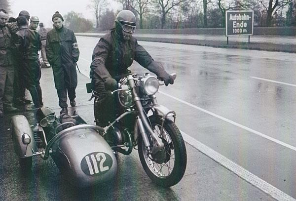 Internationales ADAC-24-Stunden-Rennen auf der Avus am 4./5. Mai 1963; Ehepaar Schick, Express