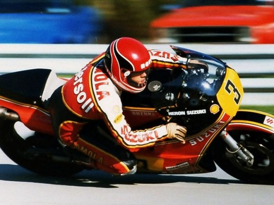 Randy Mamola - Suzuki