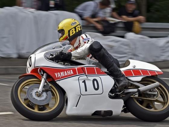 Dieter Braun 2008 in Schotten, Yamaha 750-OW31