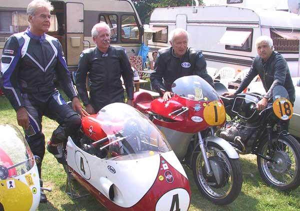 """Schotten 2004, Dieter Braun, Reinhard Hiller, Ernst Hiller, Lothar John, """"Team Willi Marewski"""""""