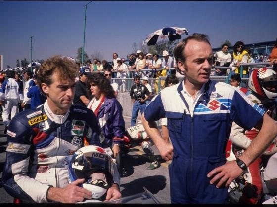 Ernst Gschwender und Kurt Stückle, Mexico City1989