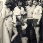 1973 Brünn, Rolf Minhoff, Rolf Eggersdorfer, Erich Stögerer, Walter Nieser