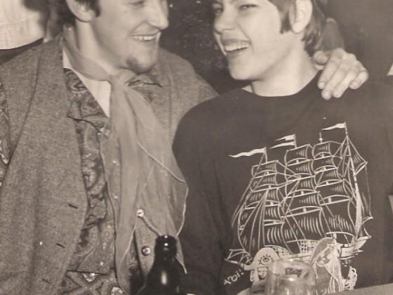 Das waren noch Zeiten...Karneval mit einer Freundin 1967