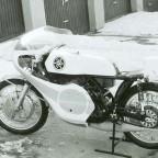 Tübingen 1973, meine Yamaha TR 350