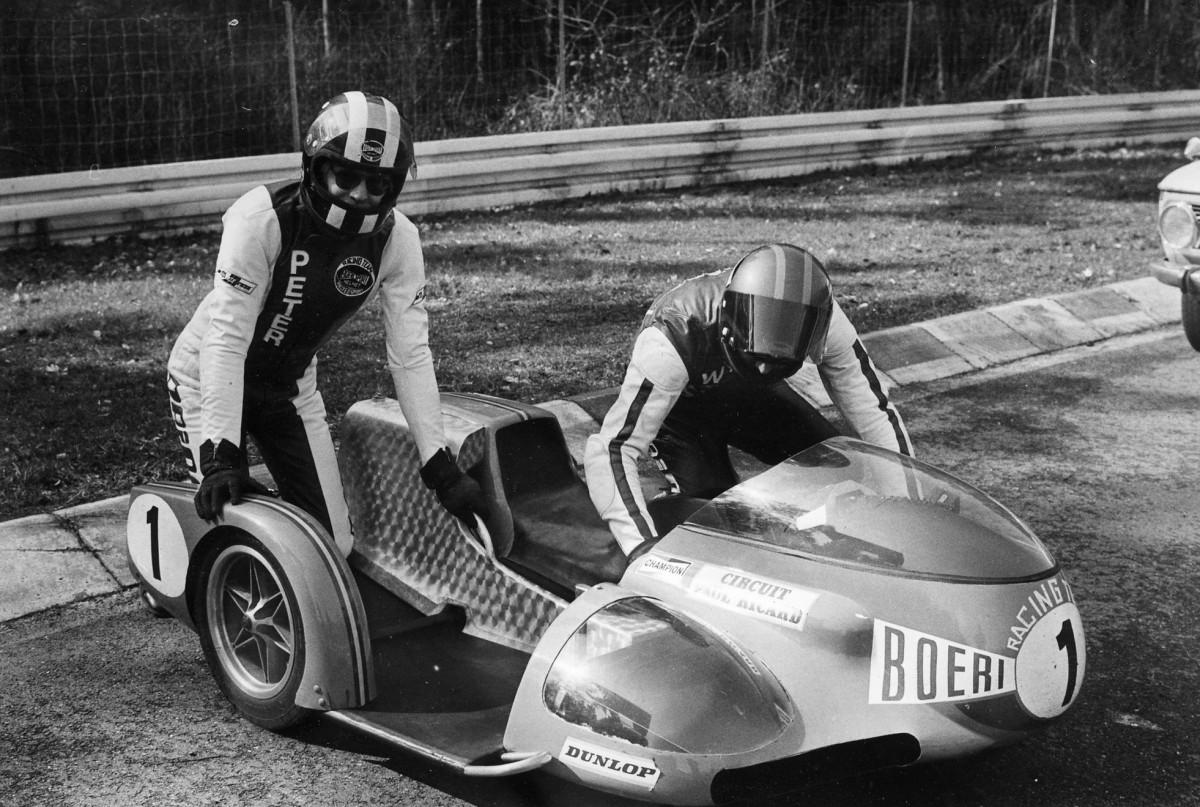 Hockenheim 1975 - Beifahrer von Werner Schwärzel