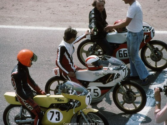 Klasse 125ccm - Hockenheim 1977