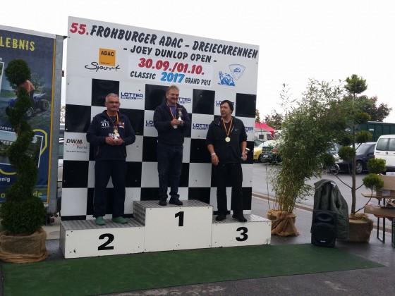 Siegerehrung Boxer Trophy