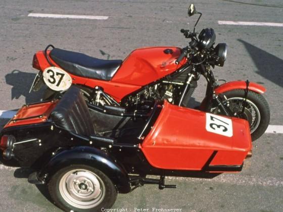 Yamaha RD 350 YPVS - Gespann