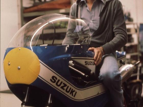 Dieter Braun, Suzuki RG500, 1976