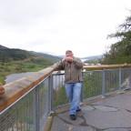2009 am Historischen Aussichtspunkt der Königin Viktoria....Queens View in Schottland.