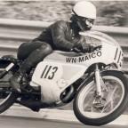 1971 Rolf Minhoff, Maico 125ccm