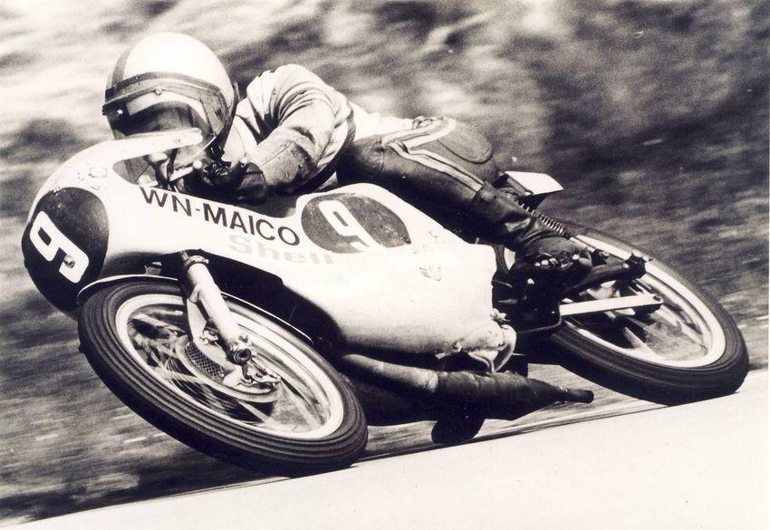 1973 Assen, Rolf Minhoff, WN Maico 125ccm