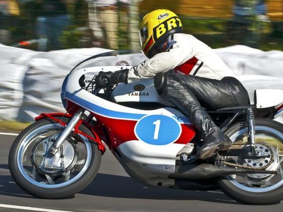 Dieter Braun, Schotten 2009, Yamaha TZ 350
