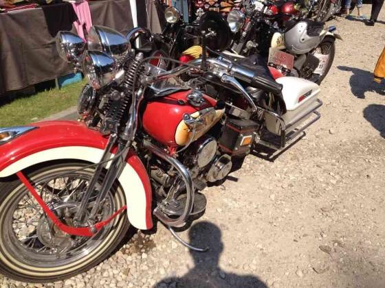 Harley Davidson Bilder vom Treffen