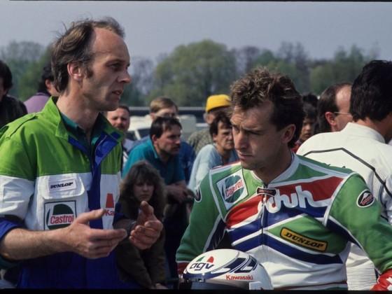 Ernst Gschwender (rechts) mit Kurt Stückle (Foto Moto Motion)