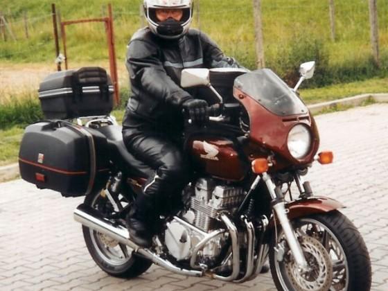 Mit CB in Richtung Großklockner 1994