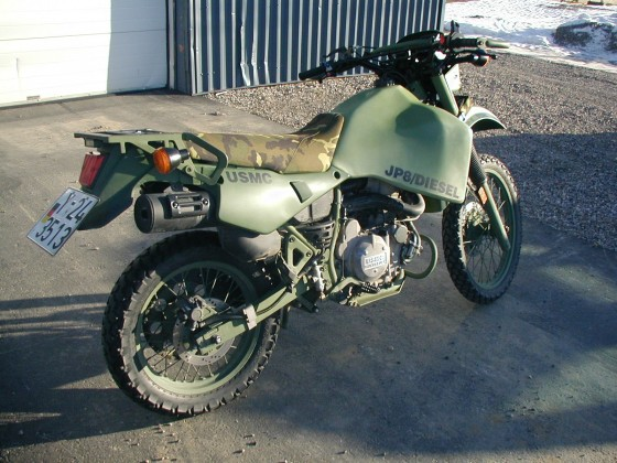 Unser Diesel problemkind......sieht für eine Military doch recht gut aus....