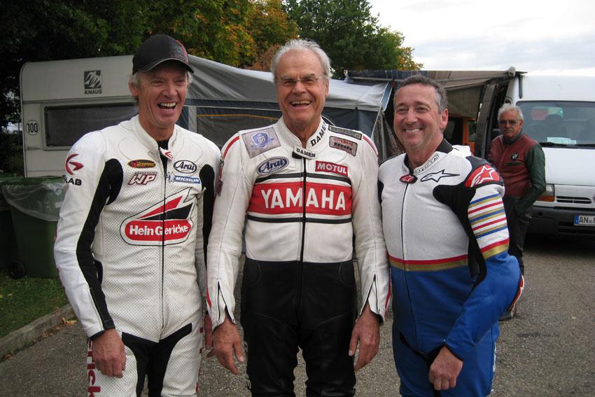 Peter Rubatto, Dieter Braun, Freddie Spencer