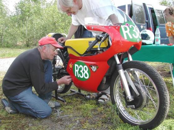 Erich Sander - 2004 in Duisburg
