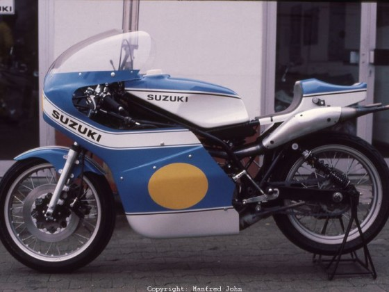 Suzuki RG500 von Dieter Braun, 1976