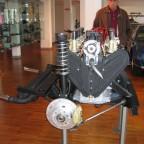 Nobby Clark 2006 im Lamborghini-Museum
