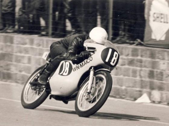 1972 Mettet, Rolf Minhoff, Maico 125ccm