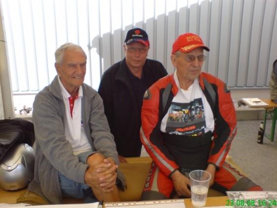 Jim,  Phil und ich