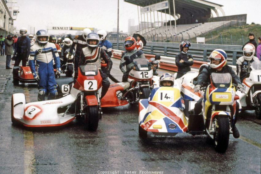 Moto Aktiv Gespannrennen 1990