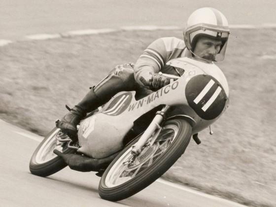 1972 GP Assen,  Rolf Minhoff, Maico 125