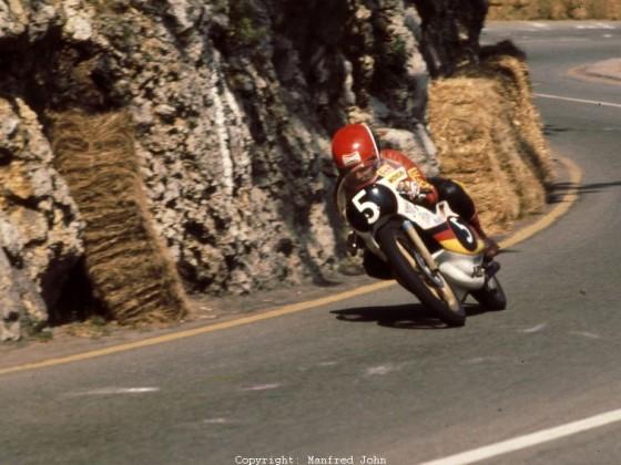 Toni Mang, Morbidelli 125ccm, GP Jugoslawien 1976