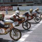 Hockenheim 1977 - Start Klasse 50ccm
