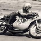 1973 GP in Assen, Rolf Minhoff, Maico 125ccm