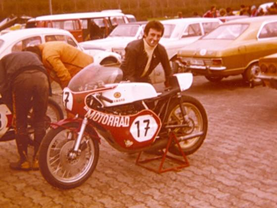 FJS - MOTORRAD-Testchef und Rennfahrer Franz Josef Schermer