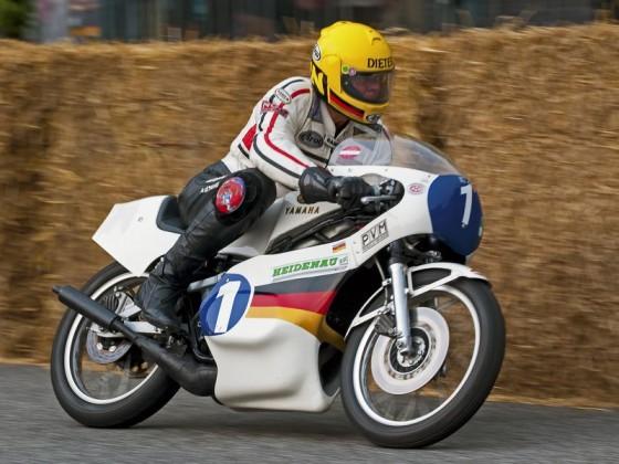 Dieter Braun, Hamburger Stadtpark-Revival 2014, Yamaha TZ 350