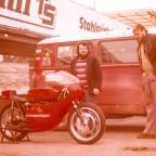 1974 in Hockenheim erstes treffen mit FJS