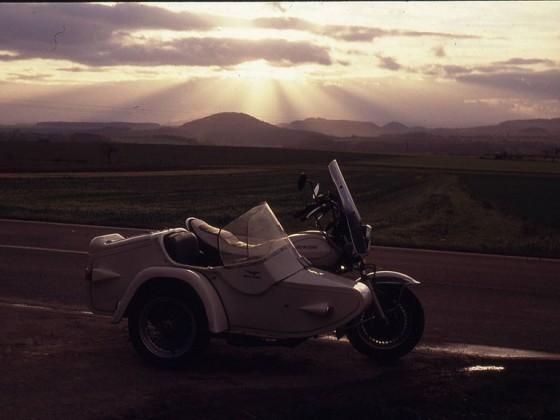 Moto Guzzi California 2 - Gespann