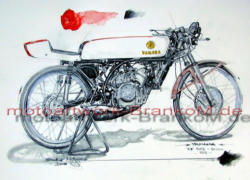 YAMAHA RF 302 50ccm 1969