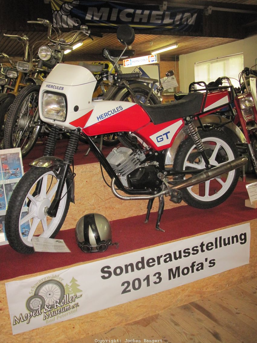 2013 moped museum bad peterstal sonderausstellung mofas. Black Bedroom Furniture Sets. Home Design Ideas