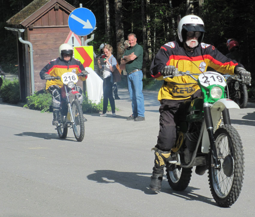 Start Enduro Senioren