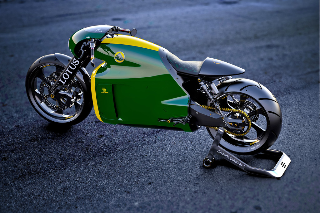 2014 - Lotus baut 100 Motorräder