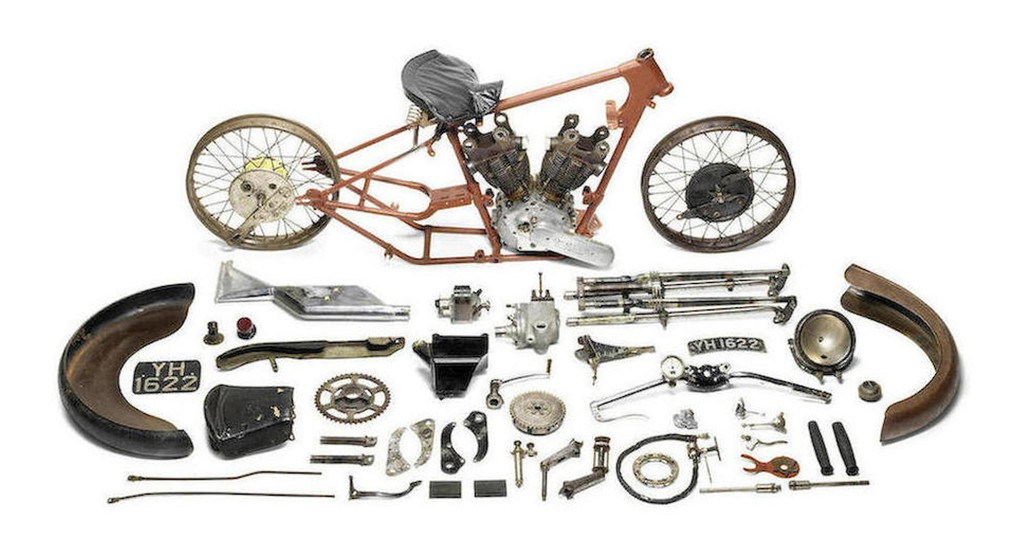 Brough Superior SS 100 Alpine Grand Sport Project 1927