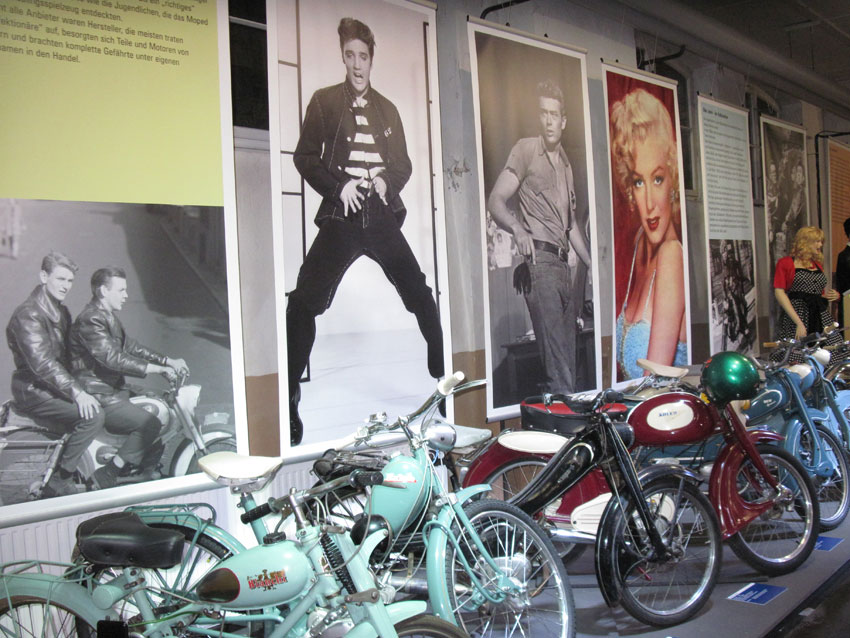 007 1950iger Jahre Mopeds
